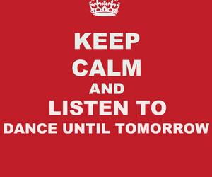 dance until tomorrow