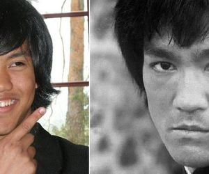 me and bruce lee