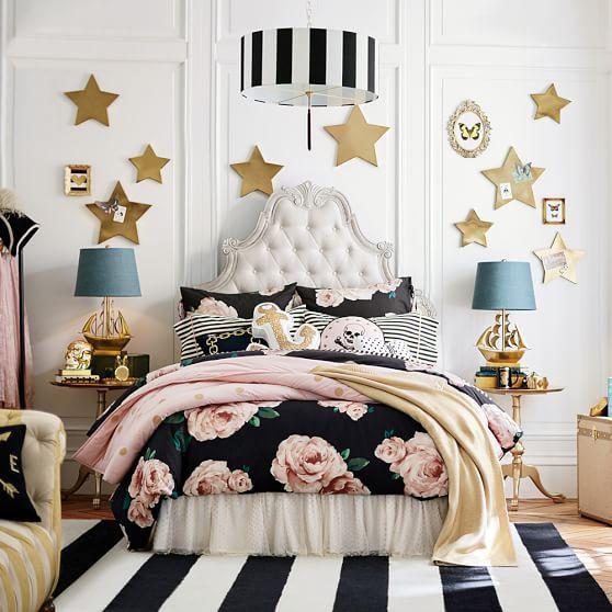 The Emily Meritt Bed Of Roses Duvet Cover Sham