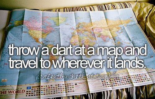 Perfect Bucket List / Travel