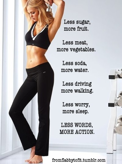 Be Strong and Get Skinny