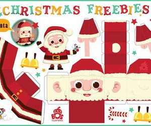 santa claus paper crafts