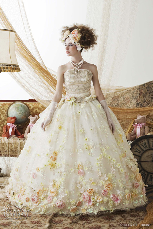 Stella de Libero Wedding Dresses | Wedding Inspirasi