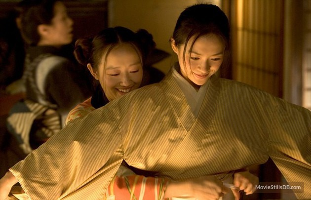 Memoirs of a Geisha, help please!?