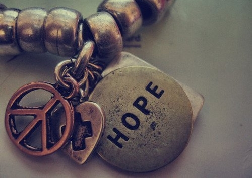 bracelet, cute, hope, jewelry - inspiring picture on Favim.com