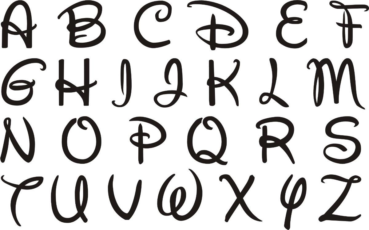 Letras Goticas Para Imprimir: Disney, Abecedario, And Letras