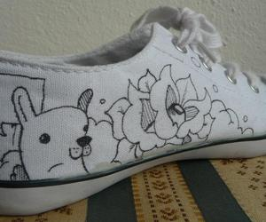shoes art paint