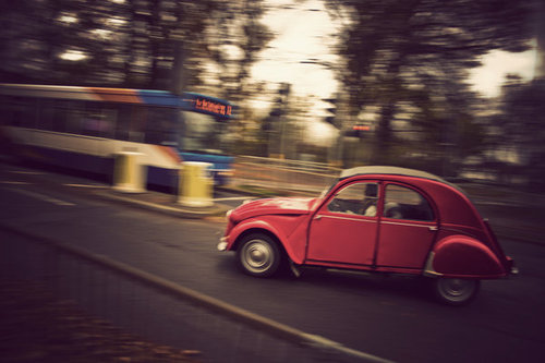 deviantART Shop Framed Wall Art Prints & Canvas | Photography | Street | Citroen 2CV cruising by artist ~jordansimpson93