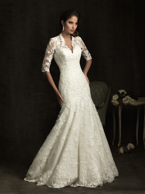 Dress of The Week Winter Wedding Dresses Belle the Magazine
