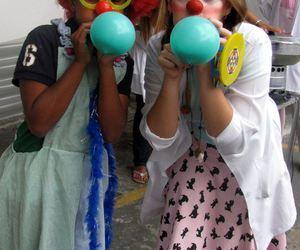 balão clown kids