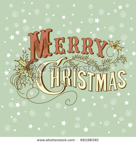 Stock-vector-vintage-christmas-card-merry-christmas-lettering-66198340_large