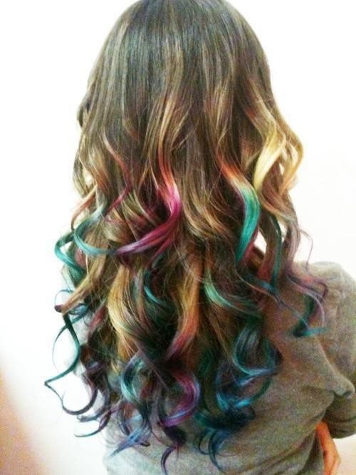 Cute hair / colorful :)
