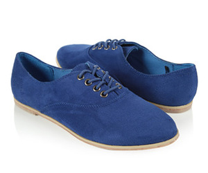f21; shoes; blueee;