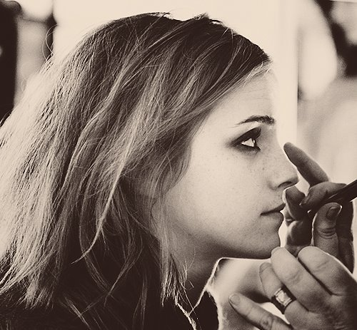 beautiful, black, black & white, emma watson, photography - inspiring picture on Favim.com