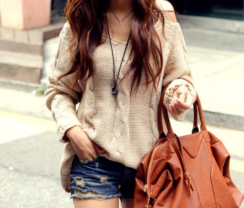 beige, fashion, girl, outfit, woman - inspiring picture on Favim.com