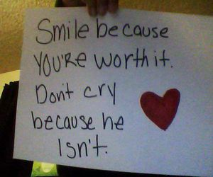 smile youre worth it