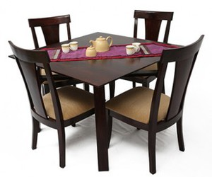 Woodenstreet Wooden Dining Table Set Online India