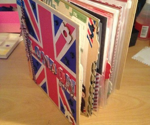 scrapbook london flag