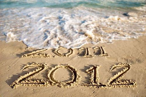 Goodbye 2011, Hello 2012.