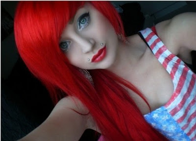 Red Scene Hair http://weheartit.com/entry/20396479