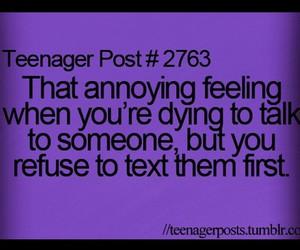 true teenager post