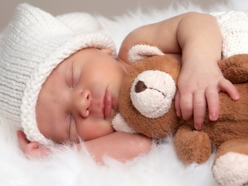 Cute baby Sleeping Wallpaper - Free Wallpapers HD - Desktop Backgrounds