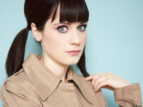 Zooey Deschanel: Frugal Icon Also: very skilled wearer of eyeliner