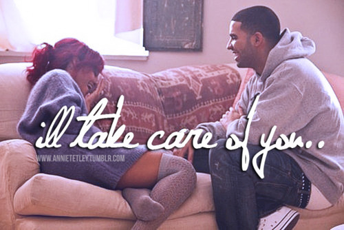 drake, love, quote, rihanna - inspiring picture on Favim.com