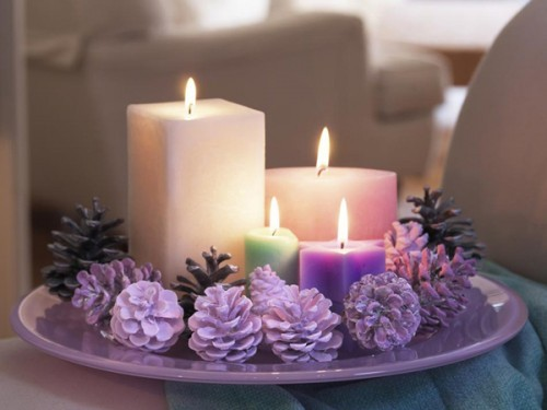 pinecones-and-candle