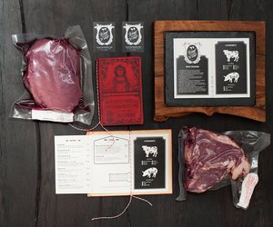 press kit for meat lovers