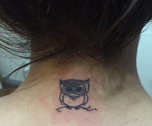 owl tatoo búho tatuaje