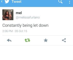 letdown
