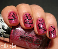 Nailside: Guest post for Ivana Thinks Pink
