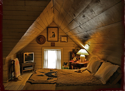 Quotes Slaapkamer : Attic Bedroom Tumblr