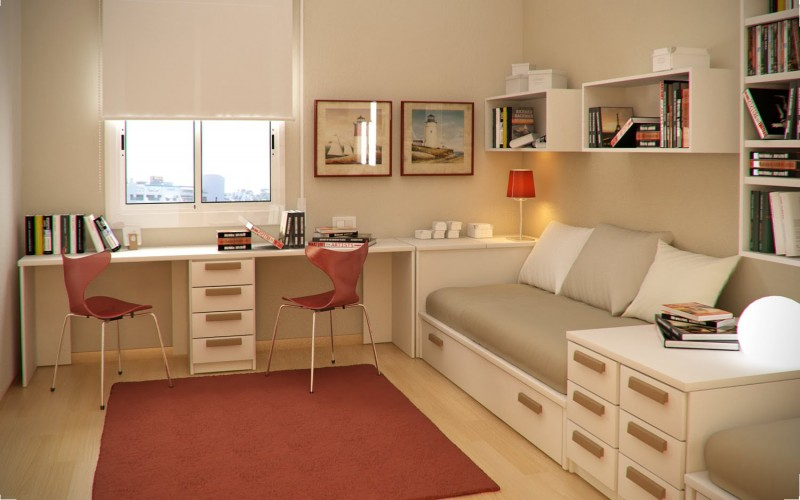 Small Teenage Bedroom Designs workspace and library in small teen bedroom design ideassergi
