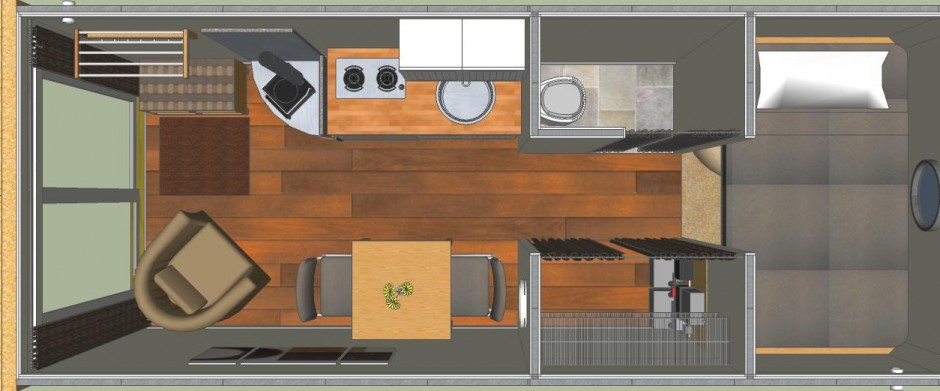 architecture, tiny cabin container houses prefab shipping