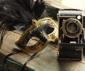 vintage mask camera