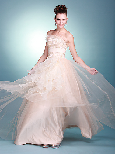 fancydisneycinderellaprincessweddingdressesspring2012under500