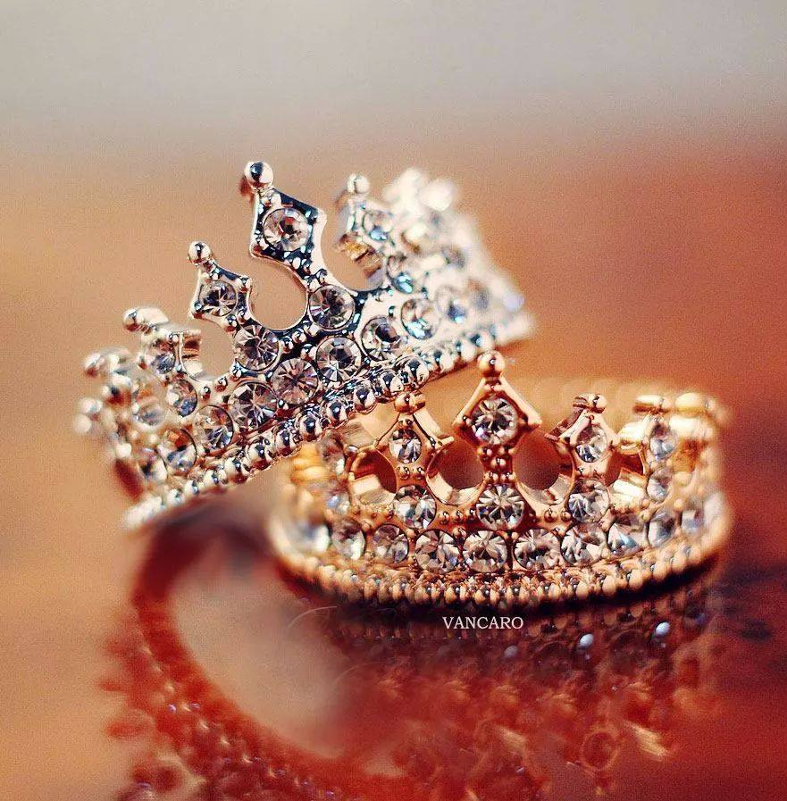 king and queen wedding rings on we heart it