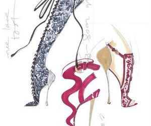 zapatos ilustracion