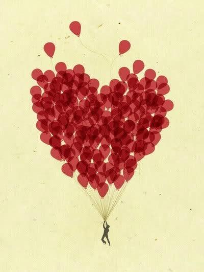 صور بالونات جديده للتصميم 2013 - صور ناس ماسكين بالونات 2013 صور بالونات على شكل قلب floating-hearts-1015