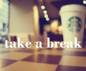 take a break coffee cafe