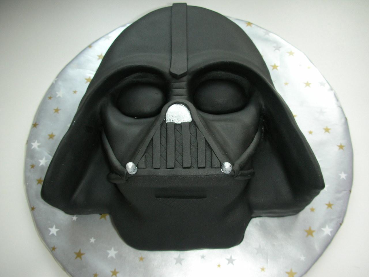 Darth Vader Cake By I Black Fashion Whi