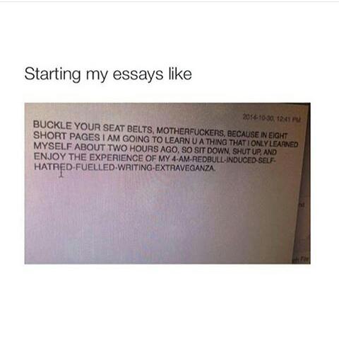 good start to an essay