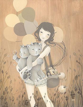 صور بالونات جديده للتصميم 2013 - صور ناس ماسكين بالونات 2013 صور بالونات على شكل قلب caroussel_girl_large