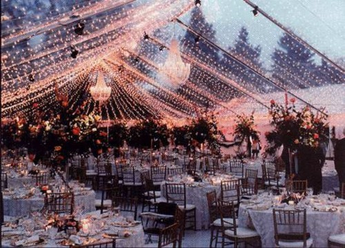 You might want to consider this for an outdoor wedding fall wedding pretty
