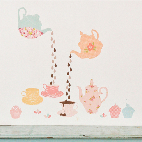 Cute-fabric-wall-stickers-tea-sets-for-girls-child-interior-decorations1_large