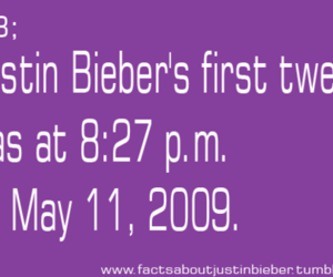 justin bieber facts