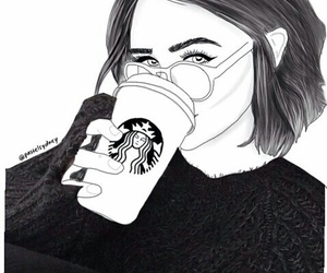 Delighful Starbucks Coffee Tumblr Black And White I For Ideas