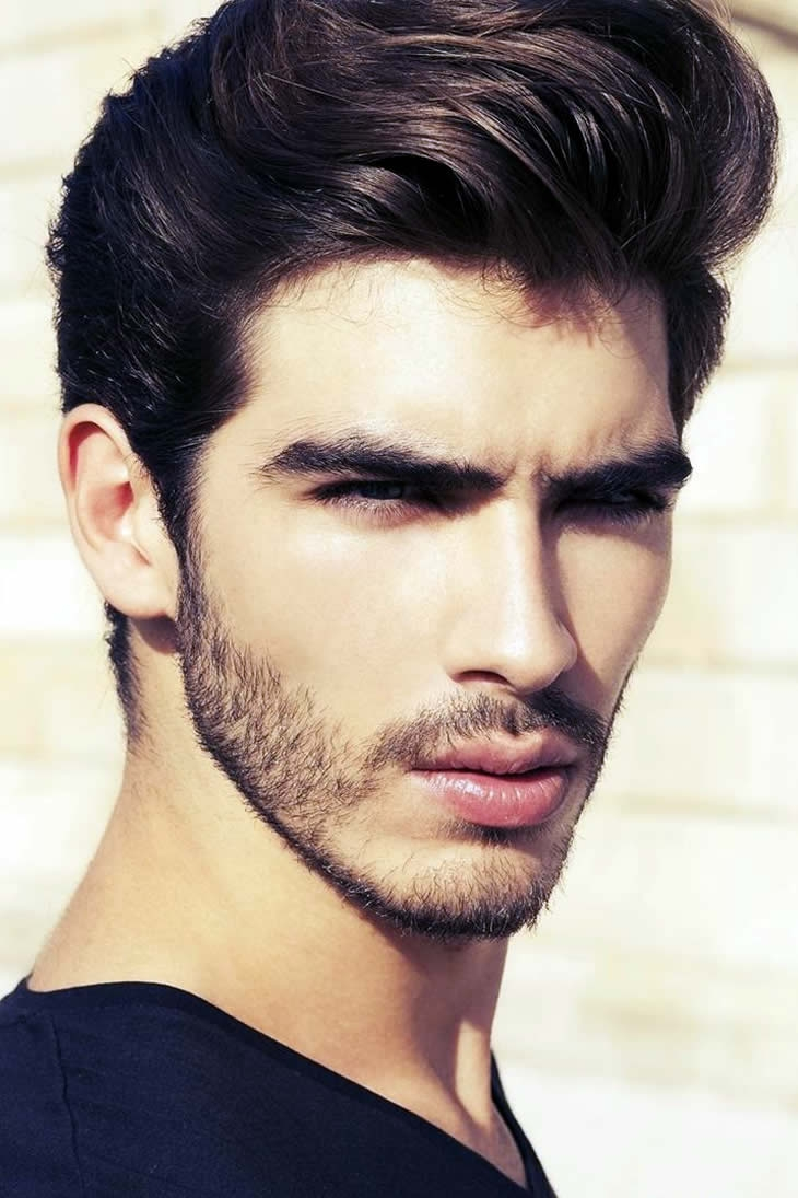 Pleasant Beard Styles For Teenagers Fashion Central We Heart It Short Hairstyles Gunalazisus